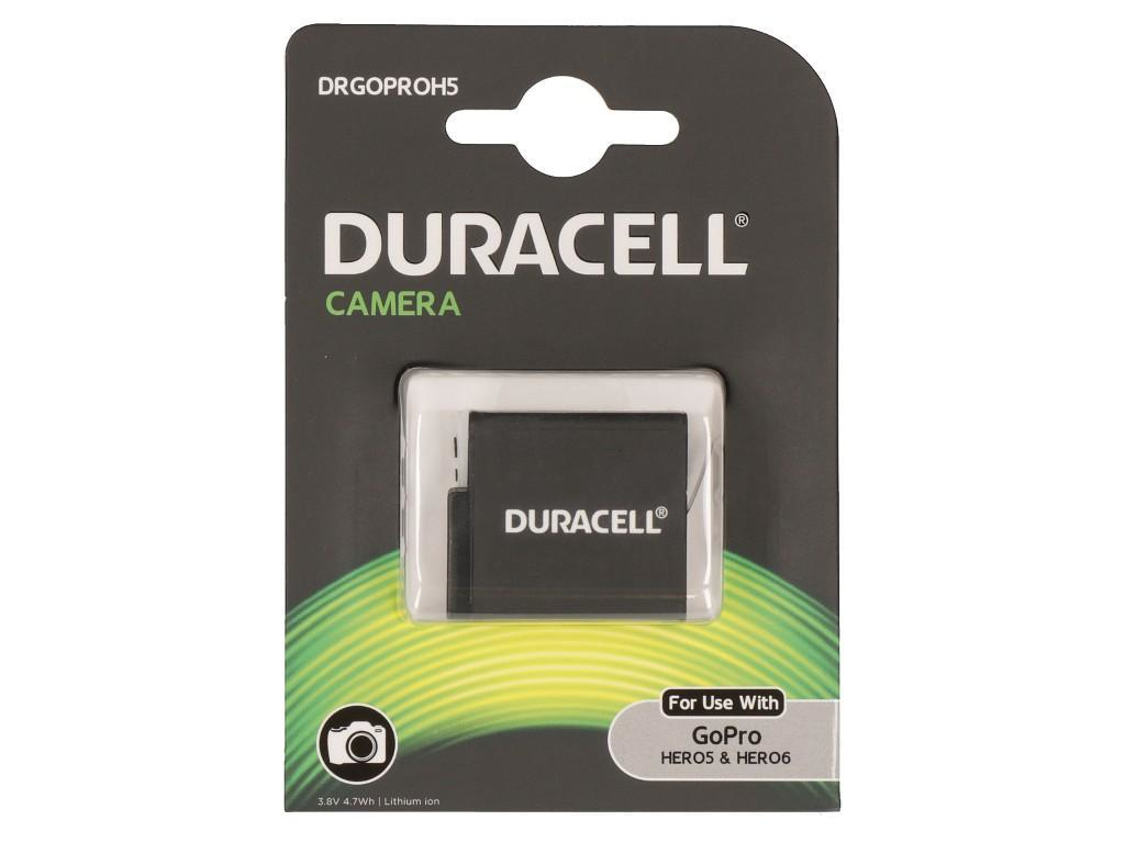 DURACELL DRGOPROH5 ACTION CAMERA BATTERY - REPLACES GOPRO HERO 5 RECHARGEABLE