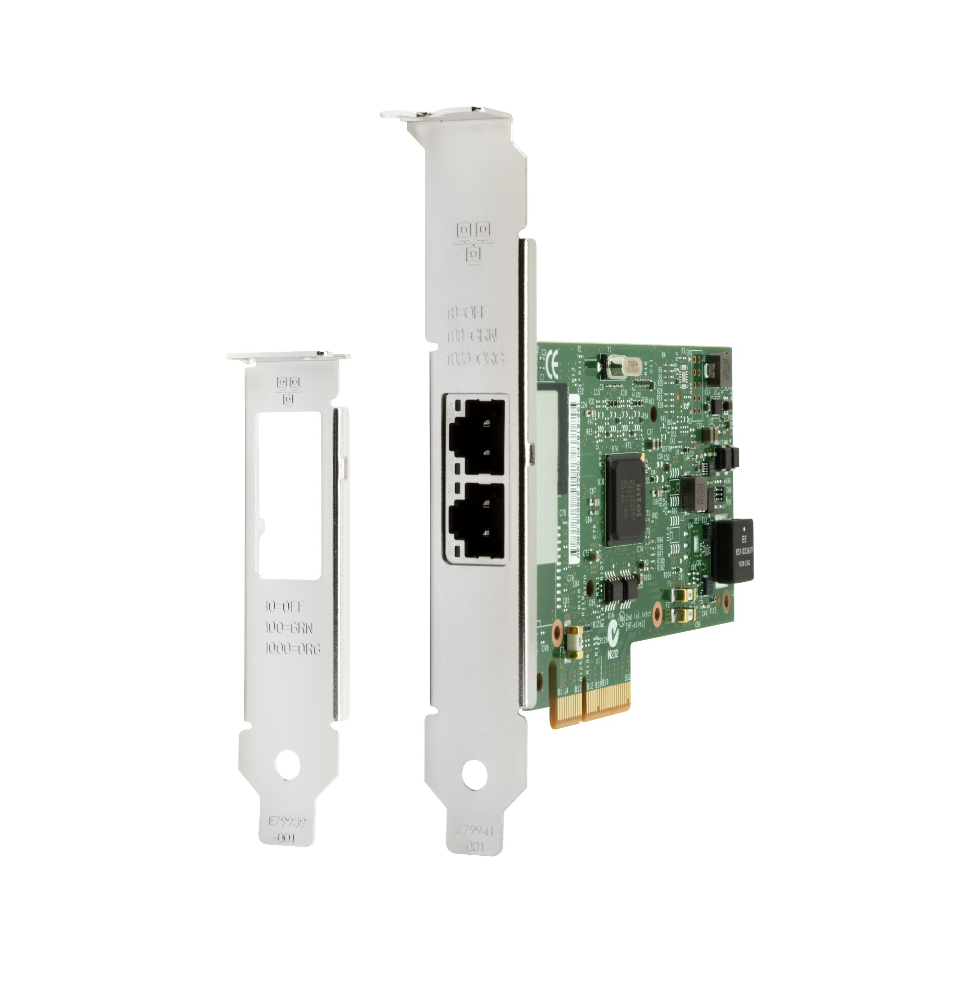 HP V4A91AA INTEL ETHERNET I350-T2 2-PORT 1GB NIC