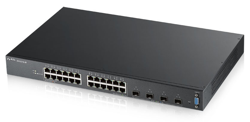 ZYXEL XGS2210-28-EU0101F XGS2210-28 MANAGED NETWORK SWITCH L2 GIGABIT ETHERNET (10/100/1000) 1U BLACK
