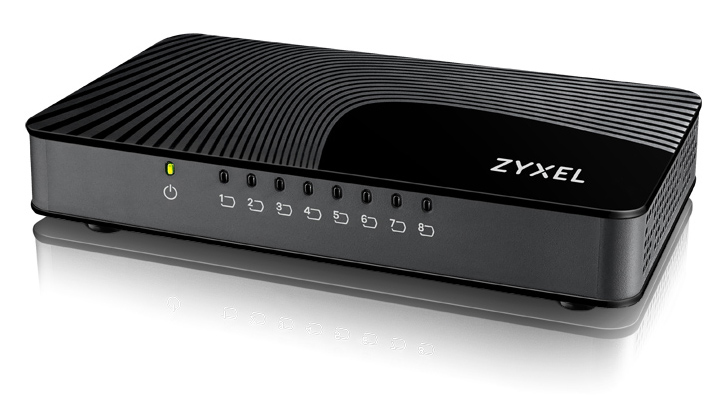 ZYXEL GS-108SV2-EU0101F GS-108S V2 GIGABIT ETHERNET (10/100/1000) BLACK