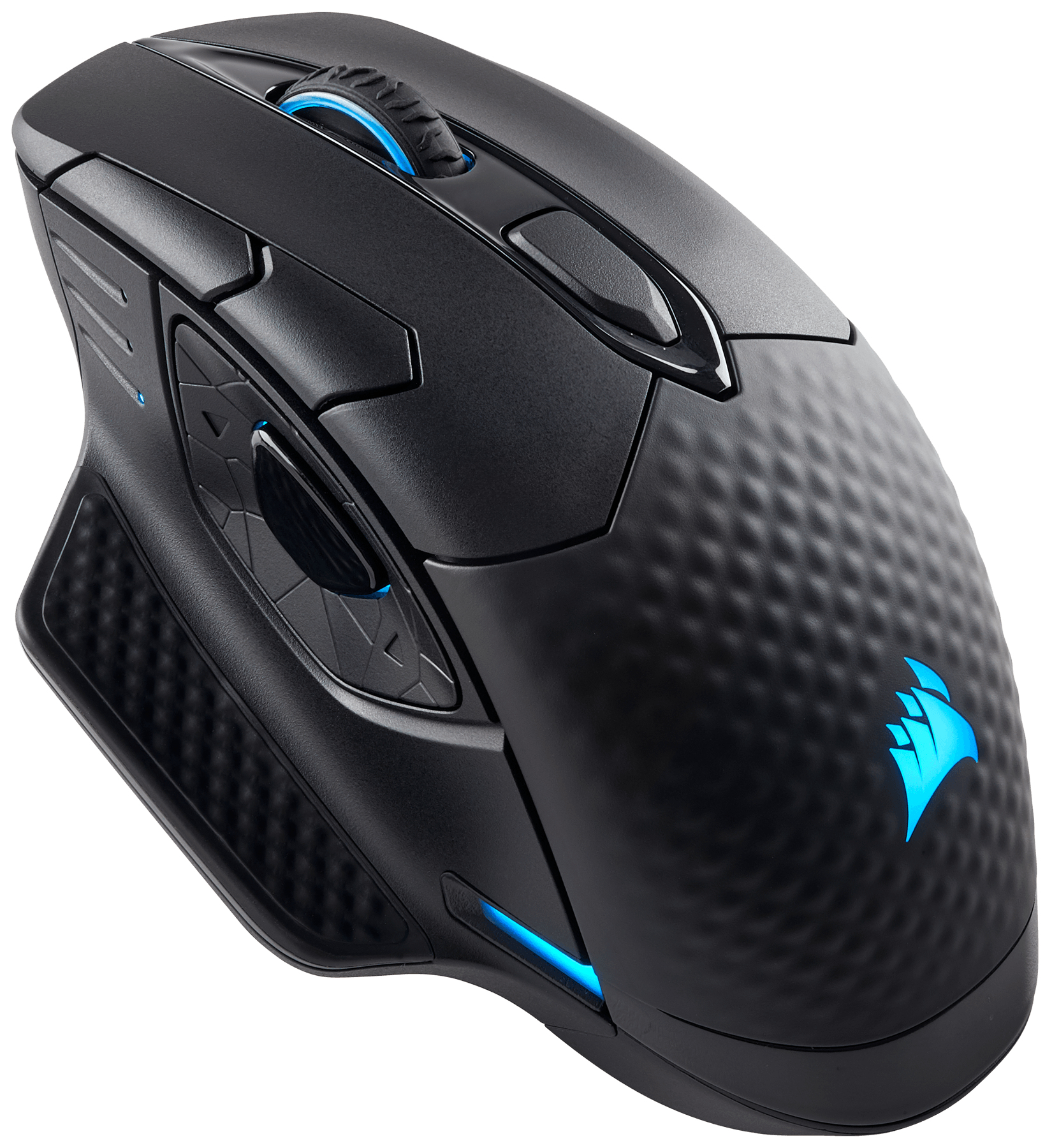 CORSAIR CH-9315011-EU DARK CORE RGB MICE BLUETOOTH+USB OPTICAL 16000 DPI RIGHT-HAND BLACK