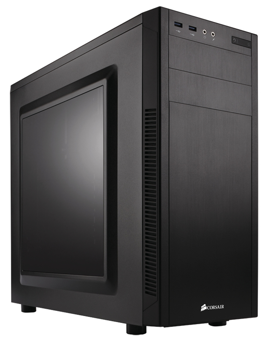 CORSAIR CC-9011075-WW CARBIDE 100R MIDI-TOWER BLACK COMPUTER CASE