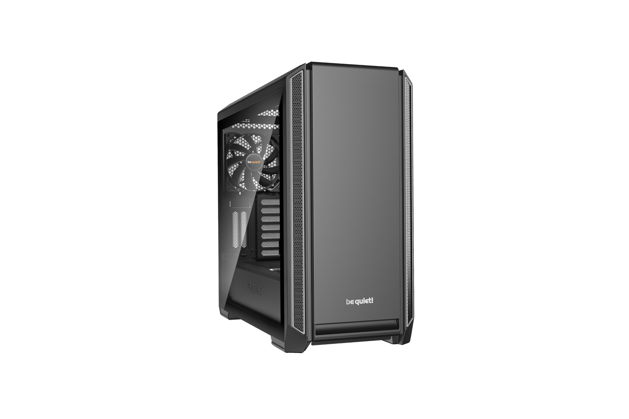 BE QUIET! BGW27 SILENT BASE 601 WINDOW COMPUTER CASE MIDI-TOWER BLACK, SILVER