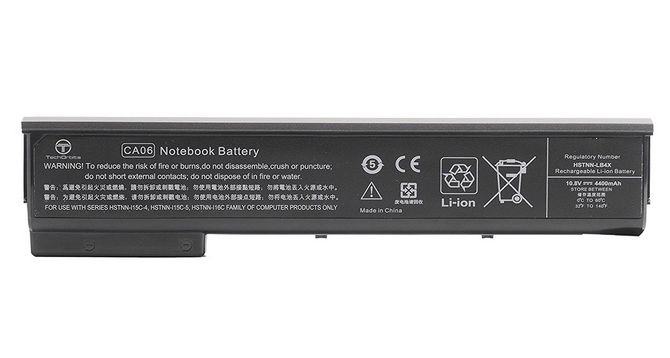 HP 718755-001 LI-ION 2550MAH RECHARGEABLE BATTERY LITHIUM-ION (LI-ION)