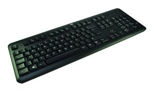2-POWER ALT3219A USB QWERTY UK ENGLISH BLACK KEYBOARD