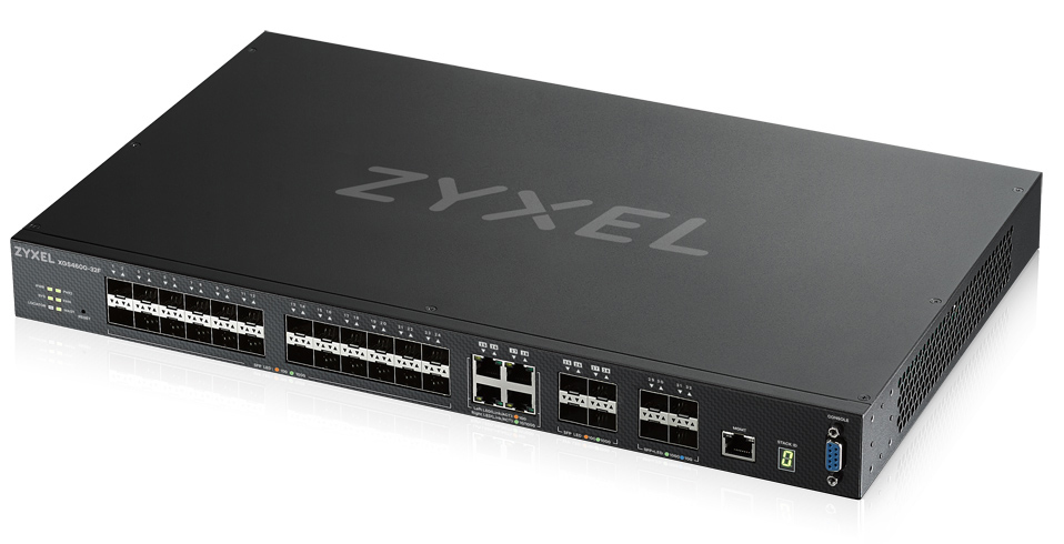 ZYXEL XGS4600-32F-ZZ0102F XGS4600-32F MANAGED NETWORK SWITCH L3 BLACK