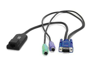 HPE 396632-001 KVM CAT5 1-PACK PS/2 INTERFACE ADAPTER CABLE