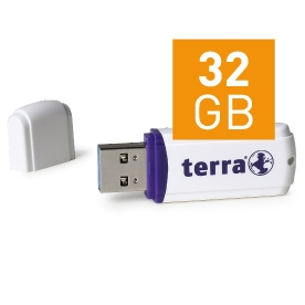 WORTMANN AG 2191278 TERRA USTHREE USB3.0 32GB 80/20 USB 3.0 (3.1 GEN 1) TYPE-A CONNECTOR WHITE FLASH DRIVE