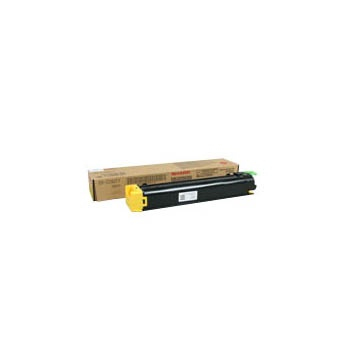 SHARP DXC38GTY DX-C38GTY TONER YELLOW, 10K PAGES @ 6% COVERAGE