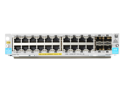 HPE J9990A GIGABIT ETHERNET (10/100/1000) SILVER NETWORK SWITCH
