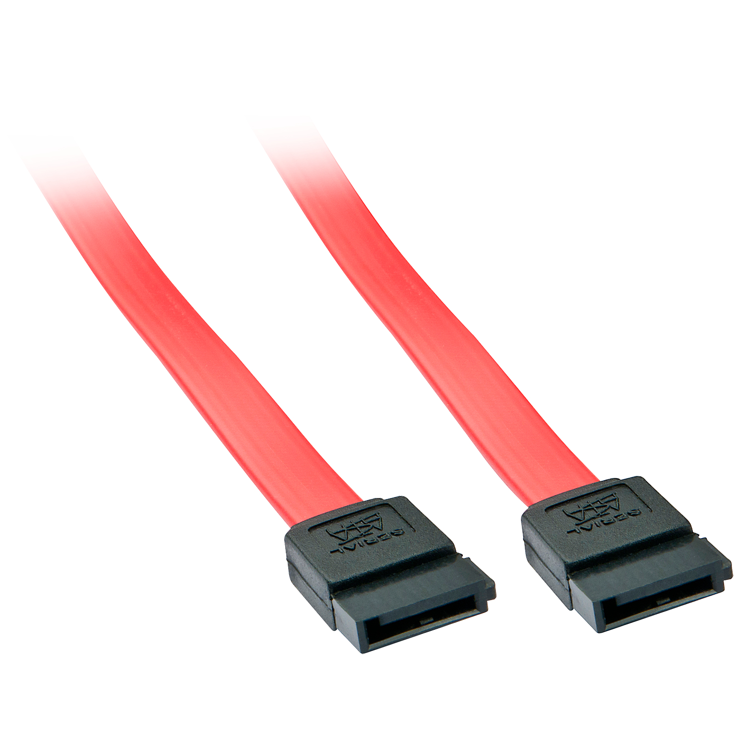 LINDY 33323 SATA CABLE 0.2 M RED 7-PIN