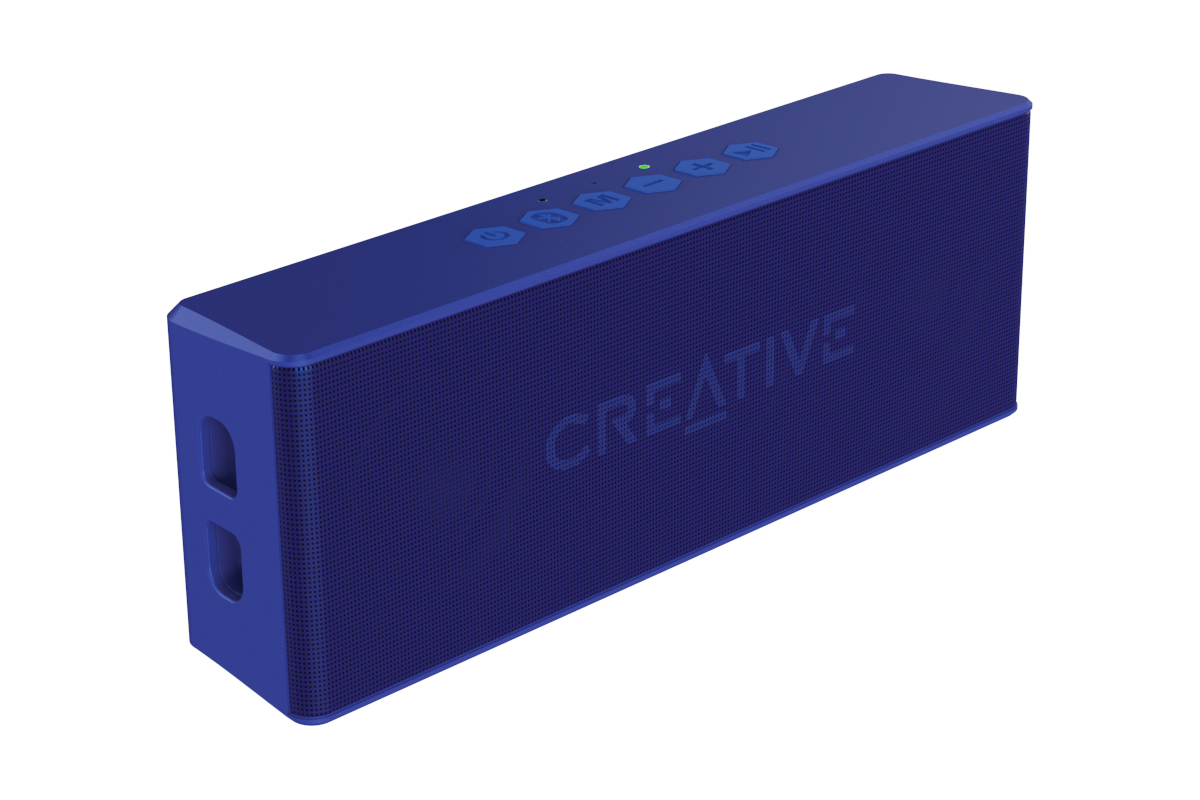 CREATIVE LABS 51MF8255AA002 MUVO 2 MONO PORTABLE SPEAKER BLUE
