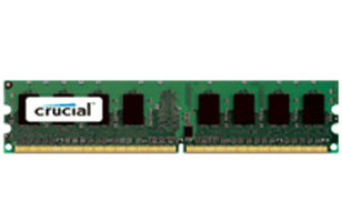 CRUCIAL CT51264BD160BJ 4GB DDR3 PC3-12800 1600MHZ MEMORY MODULE