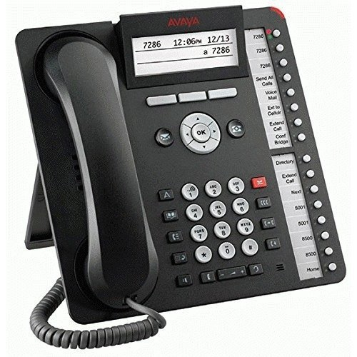 AVAYA 700504843 1616-I WIRED HANDSET 4LINES LCD BLACK IP PHONE