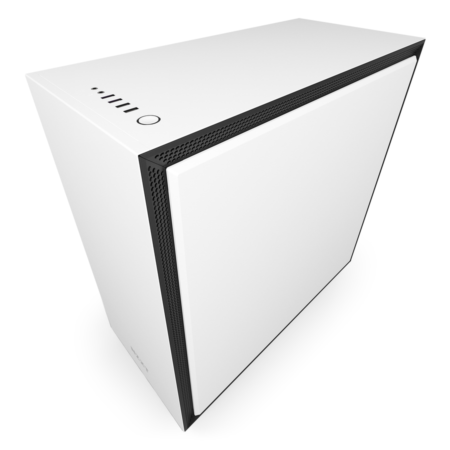 NZXT CA-H700B-W1 H700 MIDI-TOWER WHITE COMPUTER CASE