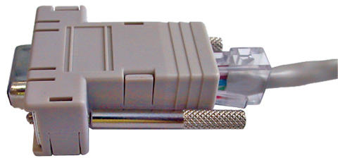 VADDIO 998-1001-232 CABLE INTERFACE/GENDER ADAPTER DB-9F RJ-45 WHITE