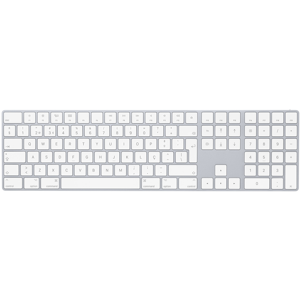 APPLE MQ052PO/A MQ052F/A BLUETOOTH QWERTY PORTUGUESE WHITE