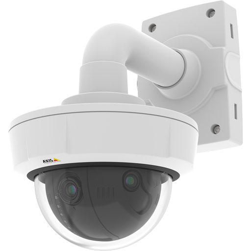 AXIS 0664-001 Q3709-PVE IP SECURITY CAMERA INDOOR & OUTDOOR DOME WHITE 3840 X 2880 PIXELS