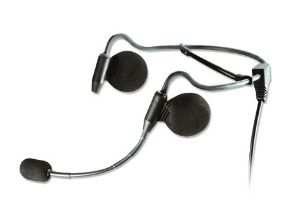 HONEYWELL HX3601HEADSET THOUGHTALK HS3 BINAURAL NECK-BAND BLACK HEADSET