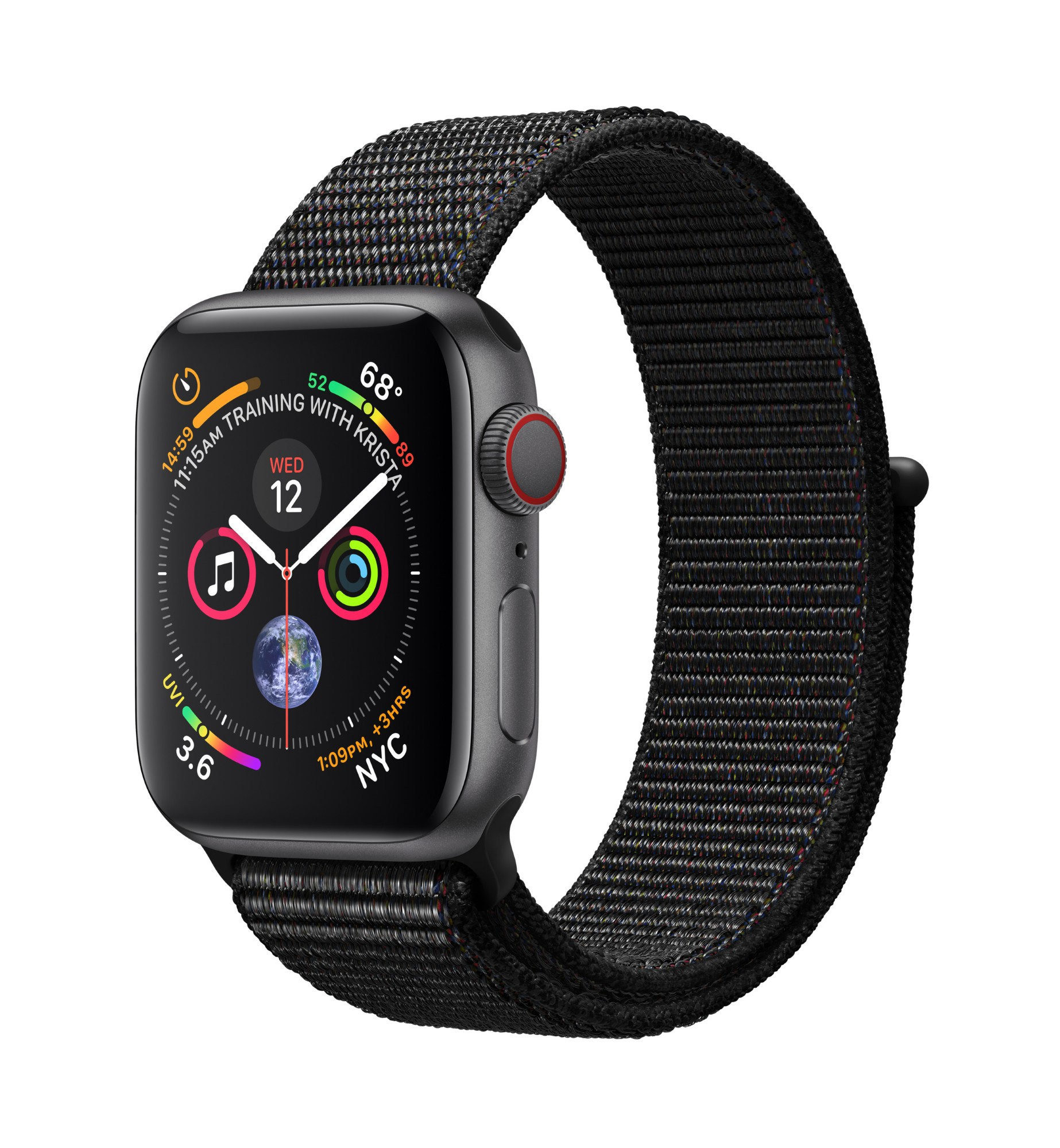 APPLE MTVF2B/A WATCH SERIES 4 OLED GREY GPS (SATELLITE) SMARTWATCH