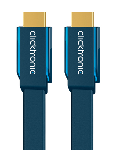 CLICKTRONIC 70314 2M HIGH SPEED HDMI CABLE TYPE A (STANDARD) BLUE