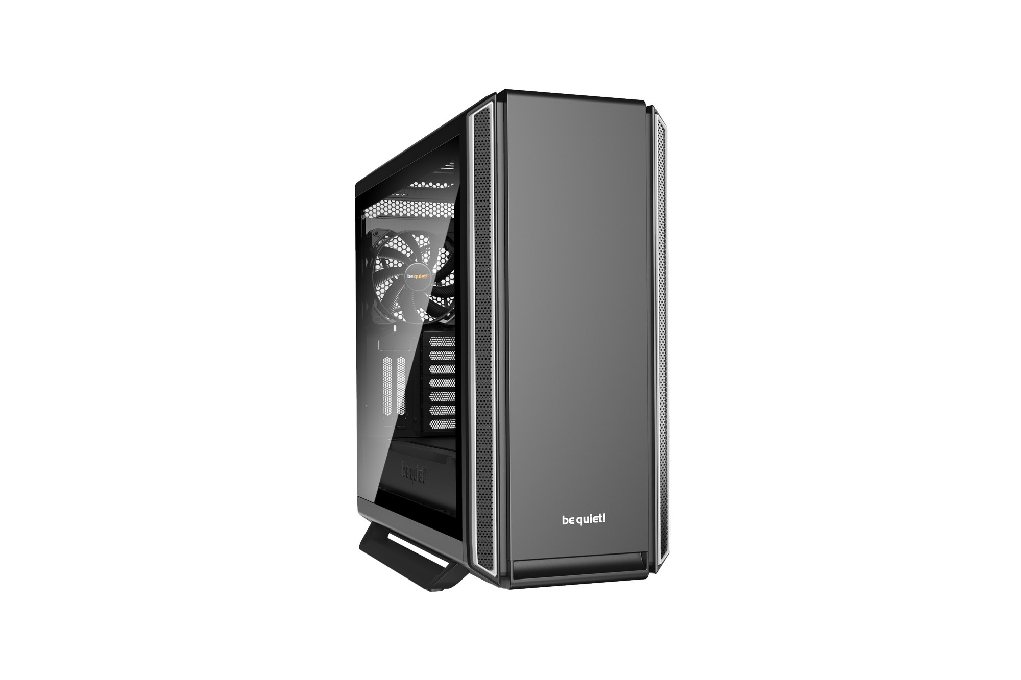 BE QUIET! BGW30 SILENT BASE 801 WINDOW COMPUTER CASE MIDI-TOWER BLACK,SILVER