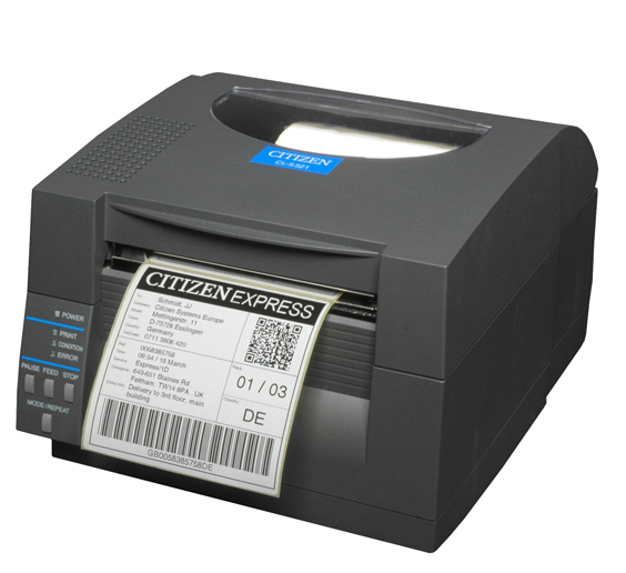 CITIZEN 1000815EP CL-S521 DIRECT THERMAL POS PRINTER 203 X 203DPI