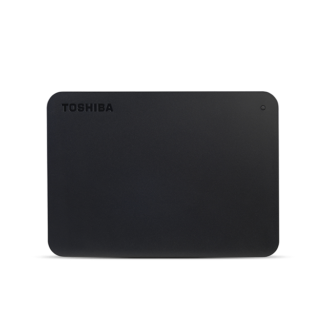 TOSHIBA HDTB440EK3CA CANVIO BASICS EXTERNAL HARD DRIVE 4 GB BLACK