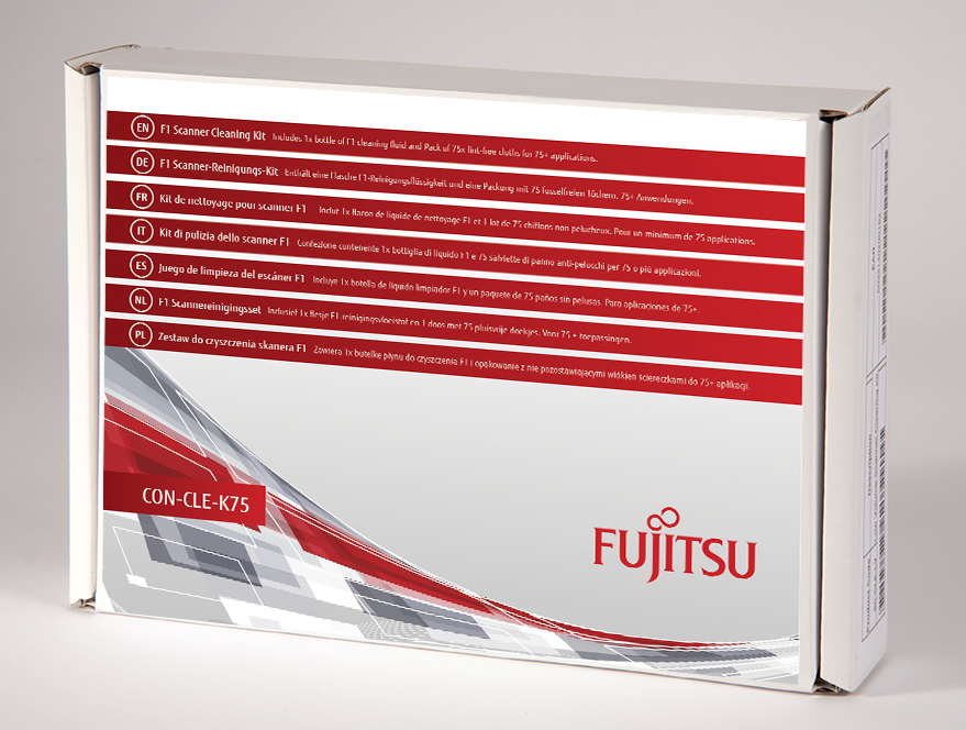 FUJITSU CON-CLE-K75 F1 SCANNER CLEANING KIT