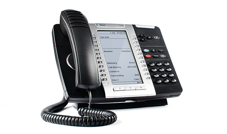 MITEL 50006478 MIVOICE 5340E WIRED & WIRELESS HANDSET LCD BLACK IP PHONE