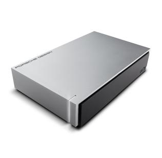 LACIE STEW3000400 PORSCHE DESIGN EXTERNAL HARD DRIVE 3000 GB SILVER