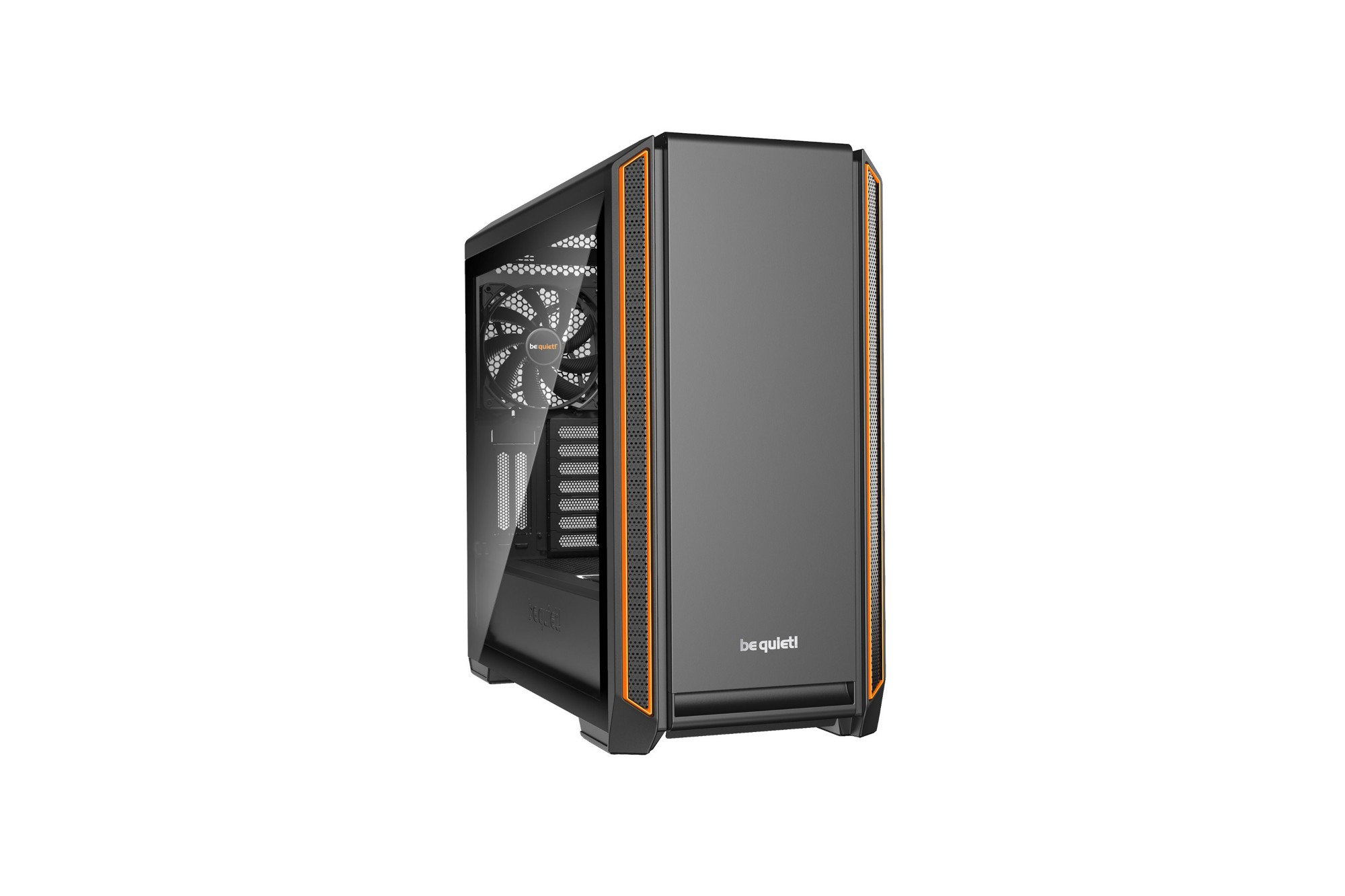 BE QUIET! BGW25 SILENT BASE 601 WINDOW COMPUTER CASE MIDI-TOWER BLACK, ORANGE