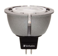VERBATIM 52224 GU5.3 MR16 6.5W DIM. WARM WHITE LED BULB