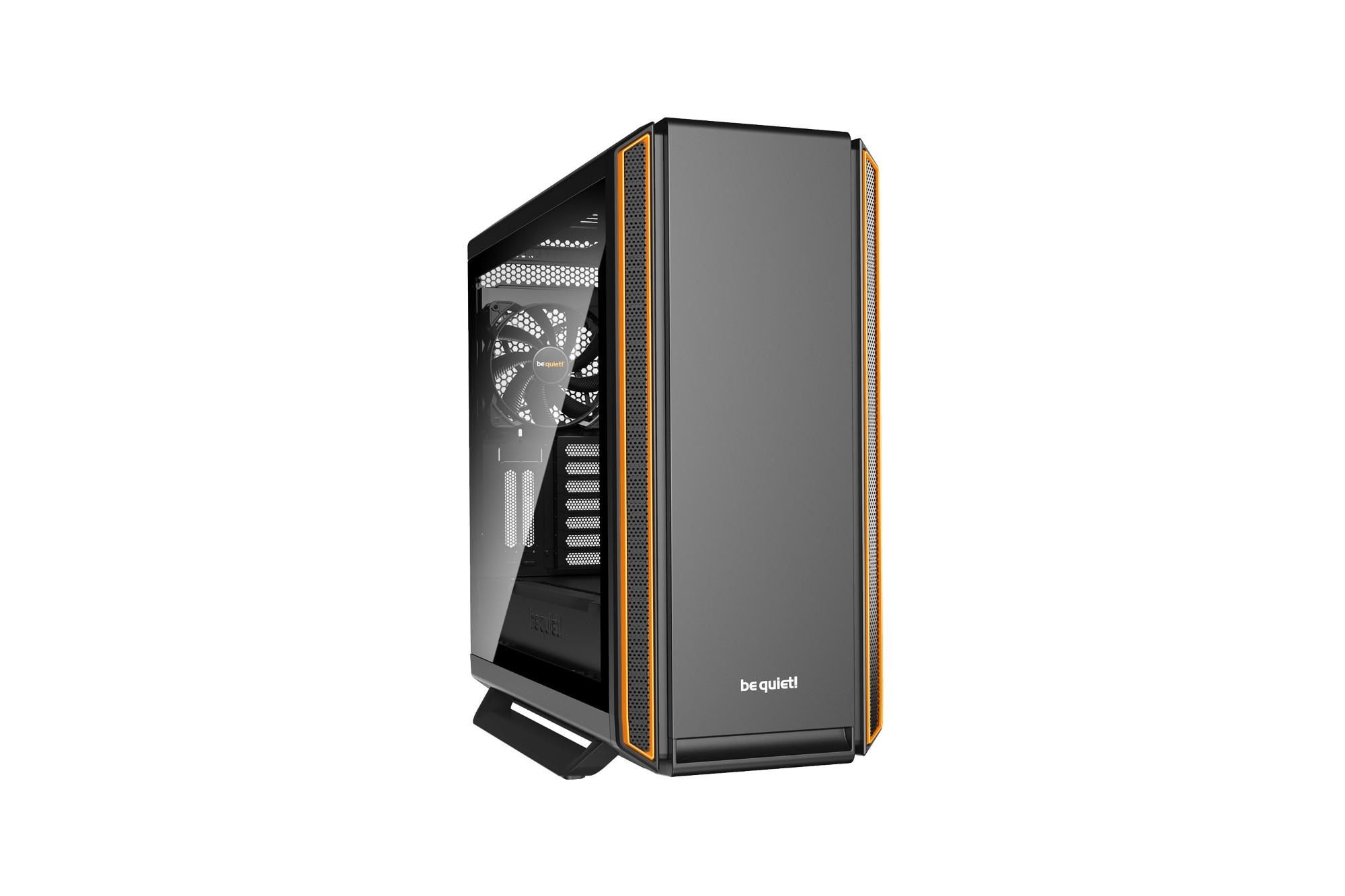 BE QUIET! BGW28 SILENT BASE 801 WINDOW COMPUTER CASE MIDI-TOWER BLACK, ORANGE