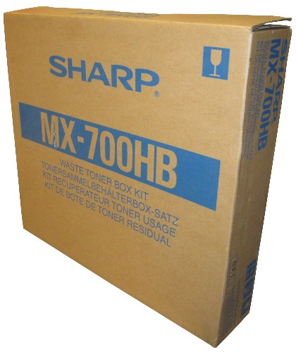 SHARP MX700HB MX-700HB TONER WASTE BOX, 100K PAGES