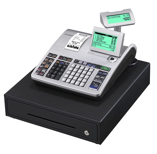 CASIO SES400 SE-S400 THERMAL TRANSFER 3000PLUS LCD CASH REGISTER