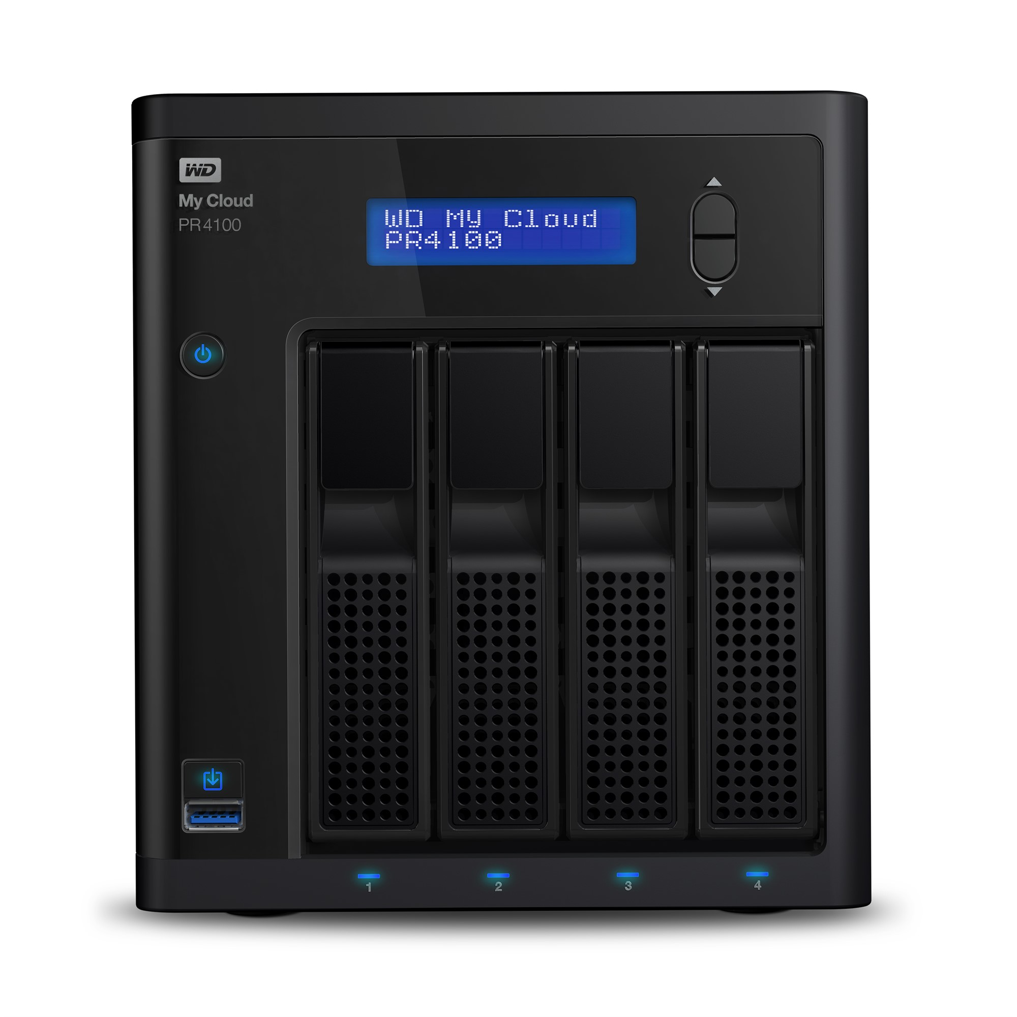 WESTERN DIGITAL MY CLOUD PR4100 NAS DESKTOP ETHERNET LAN BLACK
