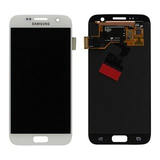 SAMSUNG LCD ASSEMBLY OCTA WHITE