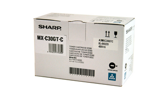 SHARP MXC30GTC MXC-30GTC TONER CYAN, 6K PAGES