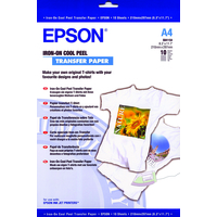 EPSON C13S041154 IRON-ON-TRANSFER PAPER, DIN A4, 124G/M, 10 SHEETS