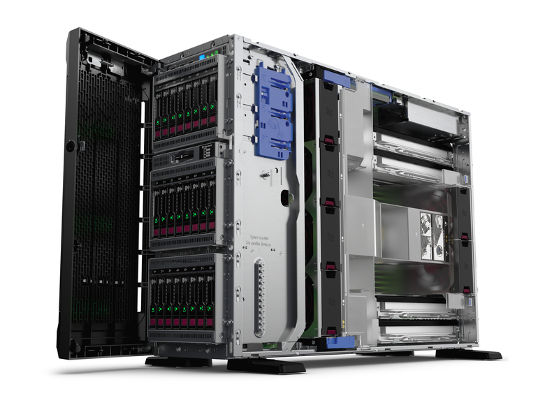 HPE P04674-425 PROLIANT ML350 GEN10 2.1GHZ 4110 800W TOWER (4U) SERVER