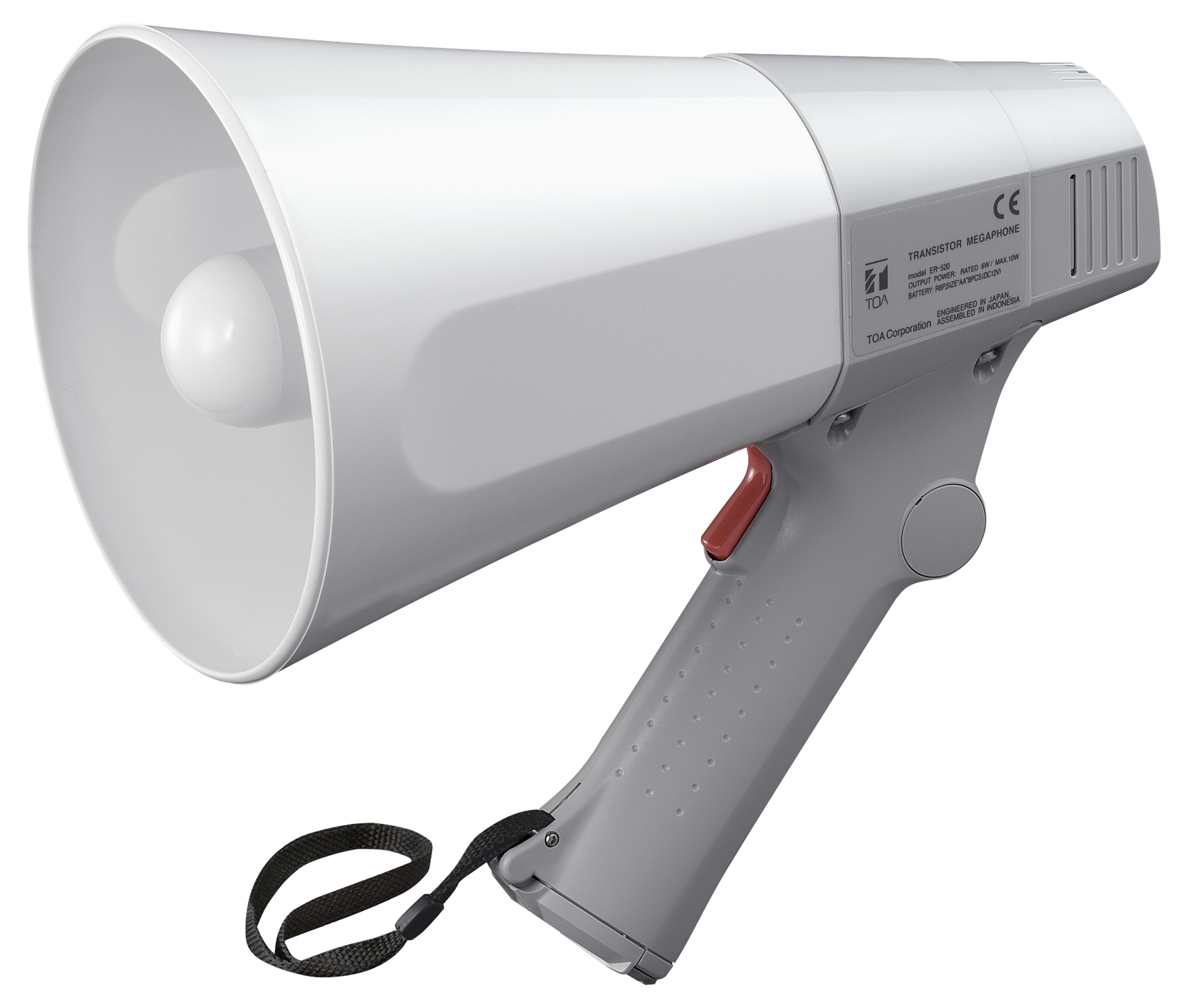 TOA ER-520 OUTDOOR 10W GREY MEGAPHONE