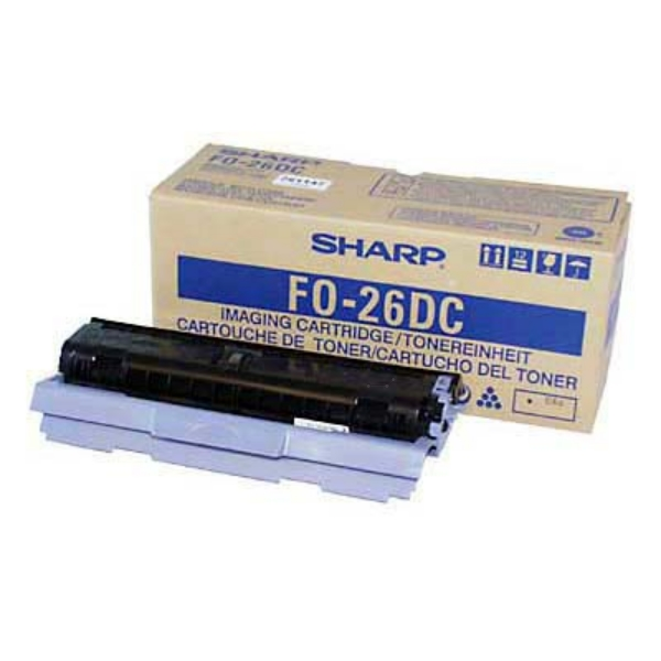 SHARP FO-26DC TONER BLACK, 2.6K PAGES