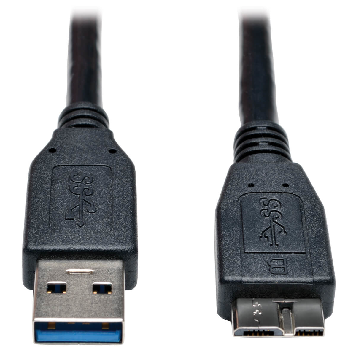 TRIPP LITE U326-006-BK USB 3.0 SUPERSPEED DEVICE CABLE (A TO MICRO-B M/M) BLACK, 1.83 M
