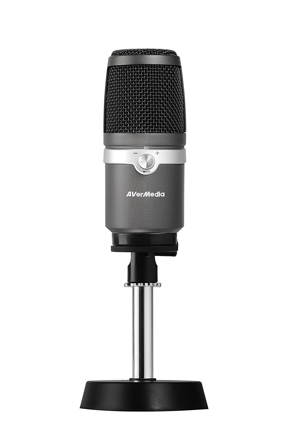 AVERMEDIA 40AAAM310ANB AM310 PC MICROPHONE WIRED BLACK,SILVER