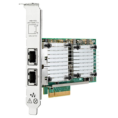 HPE 656596-B21 ETHERNET 10GB 2-PORT 530T INTERNAL 10000MBIT/S NETWORKING CARD