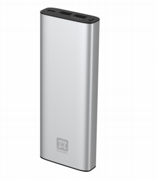 XTREMEMAC 214054 IPU-PBM-83 POWER BANK SILVER 20100 MAH