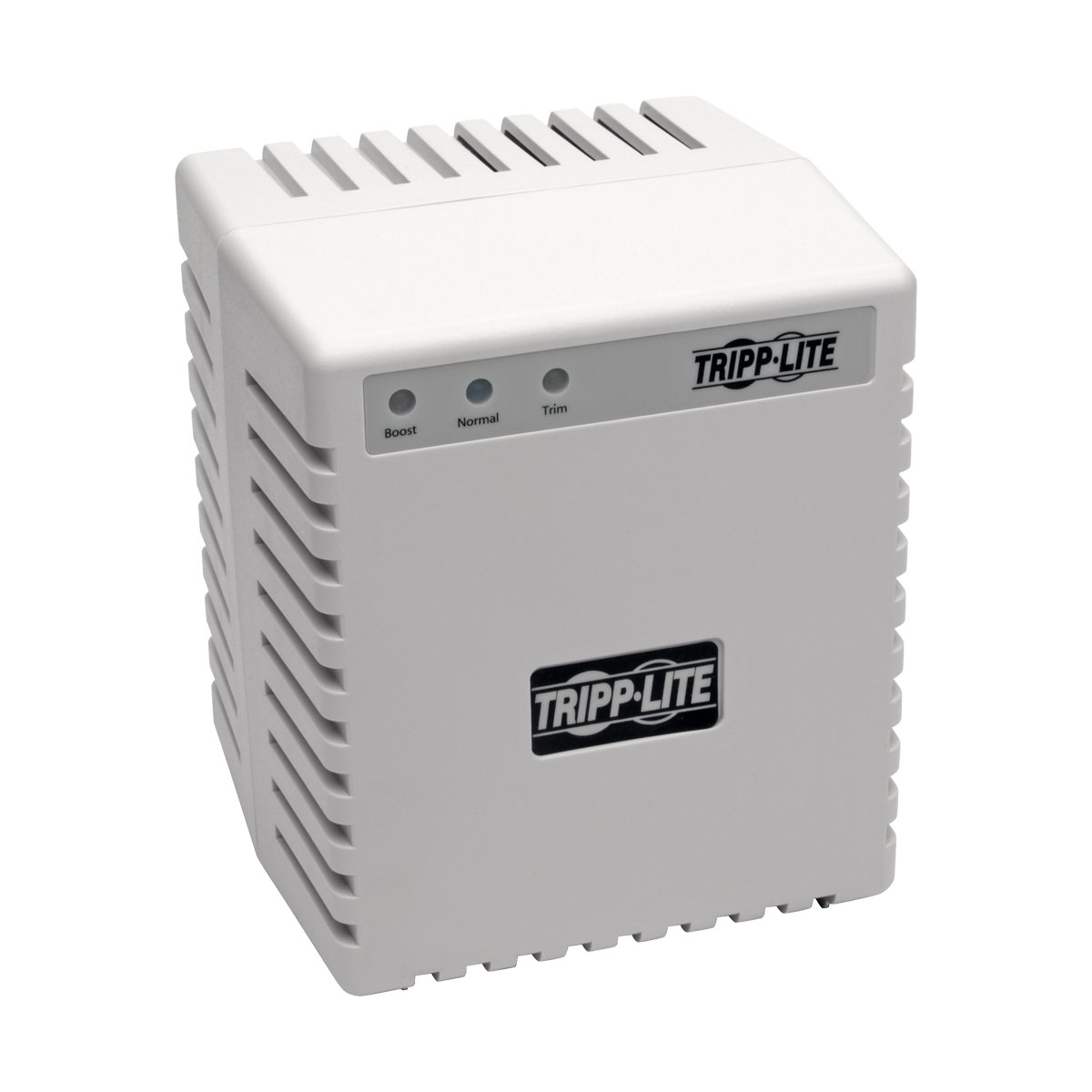 TRIPP LITE LR604 600W 230V POWER CONDITIONER WITH AUTOMATIC VOLTAGE REGULATION (AVR), AC SURGE PROTECTION, 3 OUTLETS, UNIPLUGINT ADAPTER