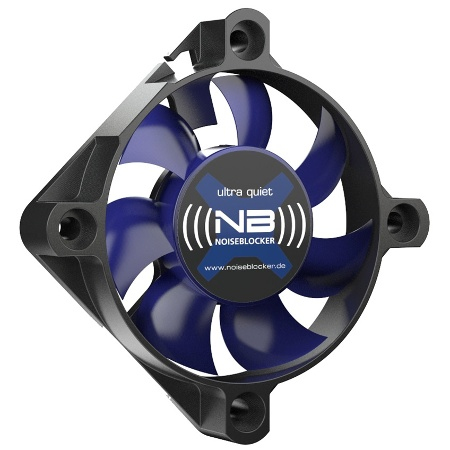 NOISEBLOCKER ITR-XS-2 BLACKSILENTFAN XS-2 COMPUTER CASE FAN