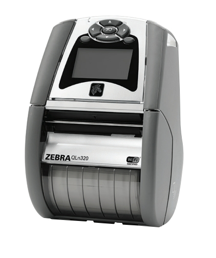 ZEBRA QH3-AUNAEM00-00 QLN320 DIRECT THERMAL MOBILE PRINTER 203 X 203DPI